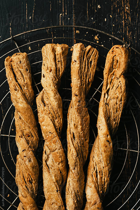 cereals bread sticks by Juri Pozzi for Stocksy United
