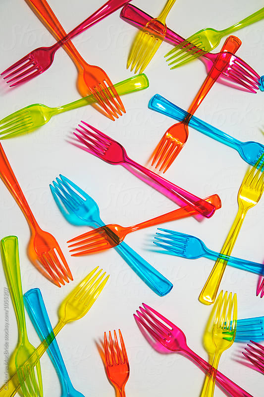 Forks... by Catherine MacBride for Stocksy United