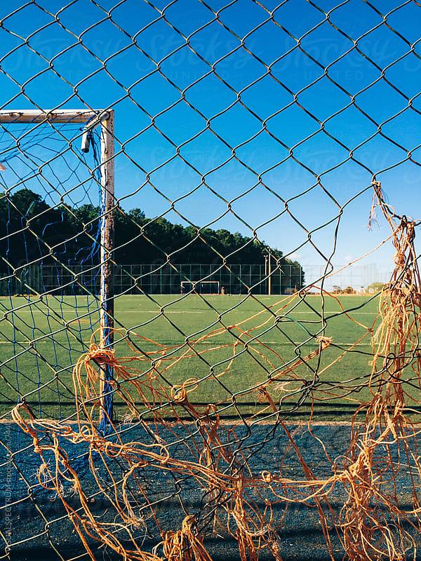 Soccer Field in Brazil by Julien L. Balmer for Stocksy United