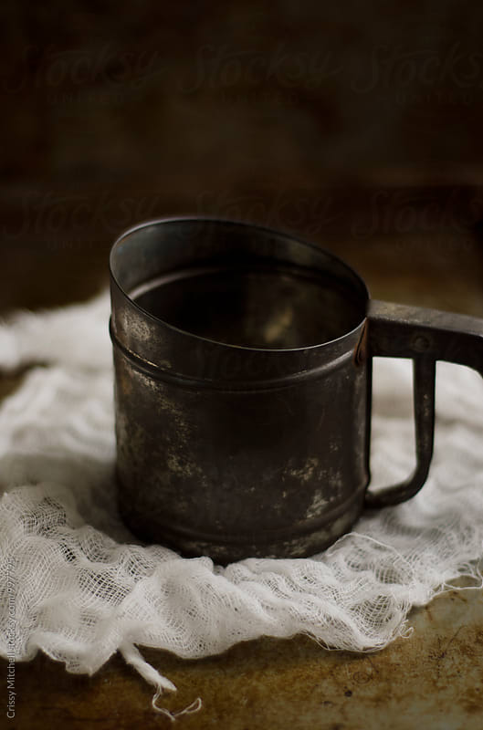 flour sifter by Crissy Mitchell for Stocksy United