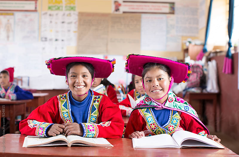 Traditional Peruvian School. Cusco. Peru. by Hugh Sitton for Stocksy United