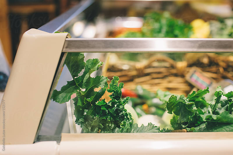 Fresh Organic Groceries at a Market by Gabrielle Lutze for Stocksy United