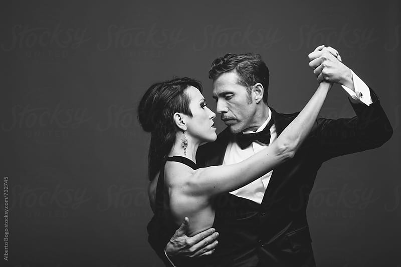 Couple Dancing Argentinian Tango by Alberto Bogo for Stocksy United