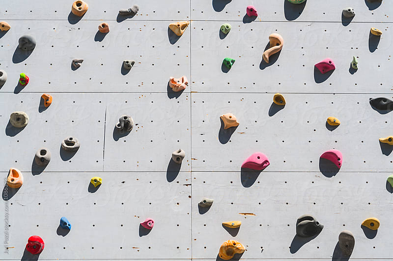 climbing wall by Juri Pozzi for Stocksy United