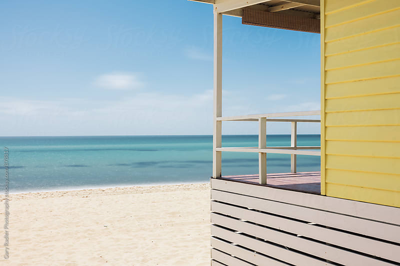 Bathing Box in Mornington by Gary Radler Photography for Stocksy United