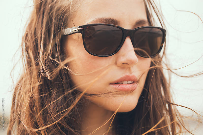 Woman With Sunglasses by Lumina for Stocksy United