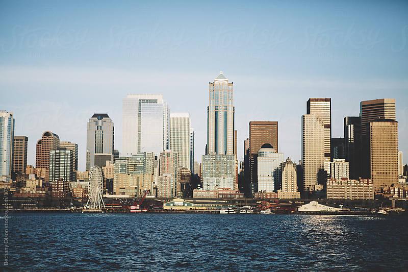 Seattle Skyline by Bethany Olson for Stocksy United