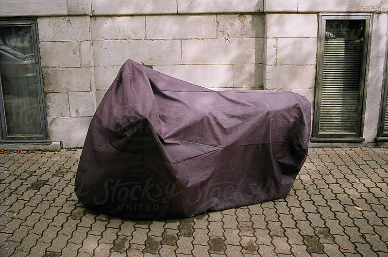 Motorcycle cover by Erik Naumann for Stocksy United