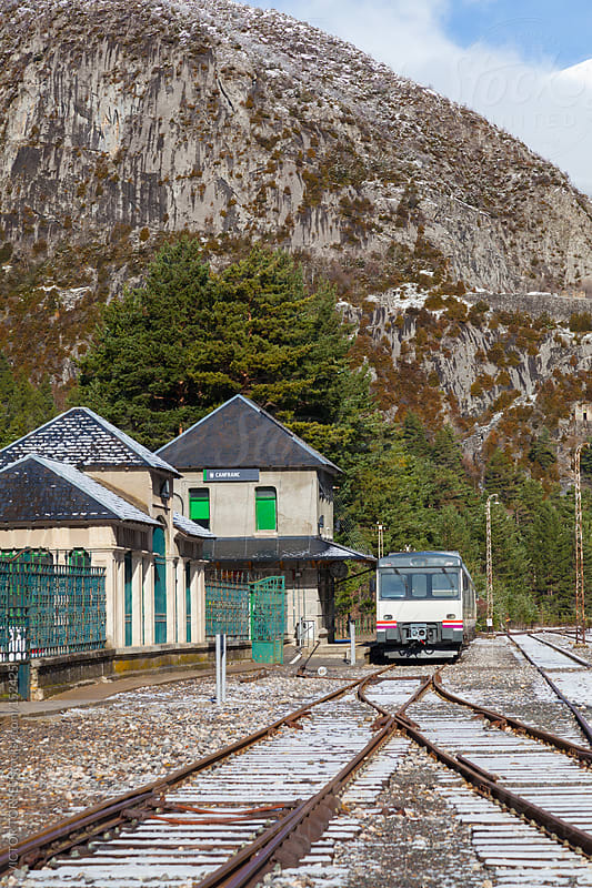Canfranc Railway Station by VICTOR TORRES for Stocksy United