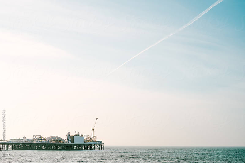Brighton Pier by Sam Burton for Stocksy United