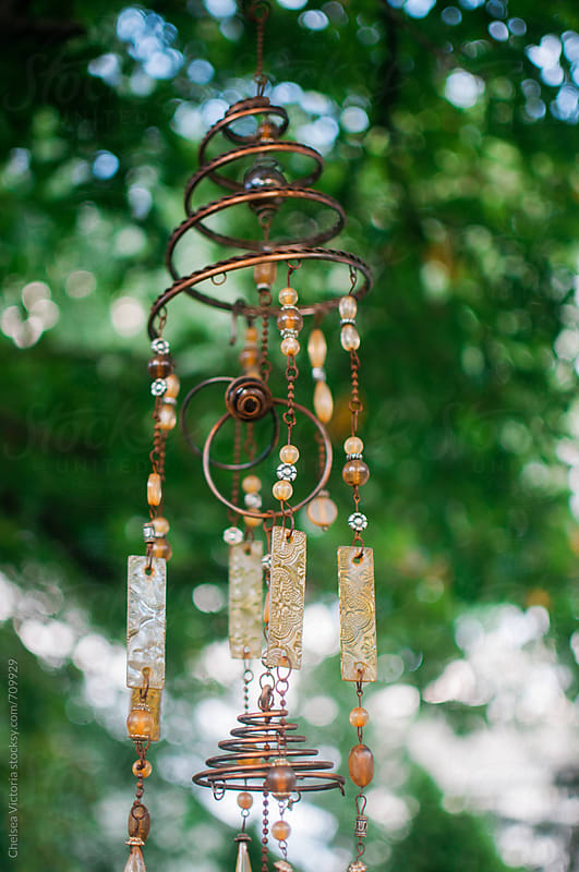 A wind chime by Chelsea Victoria for Stocksy United
