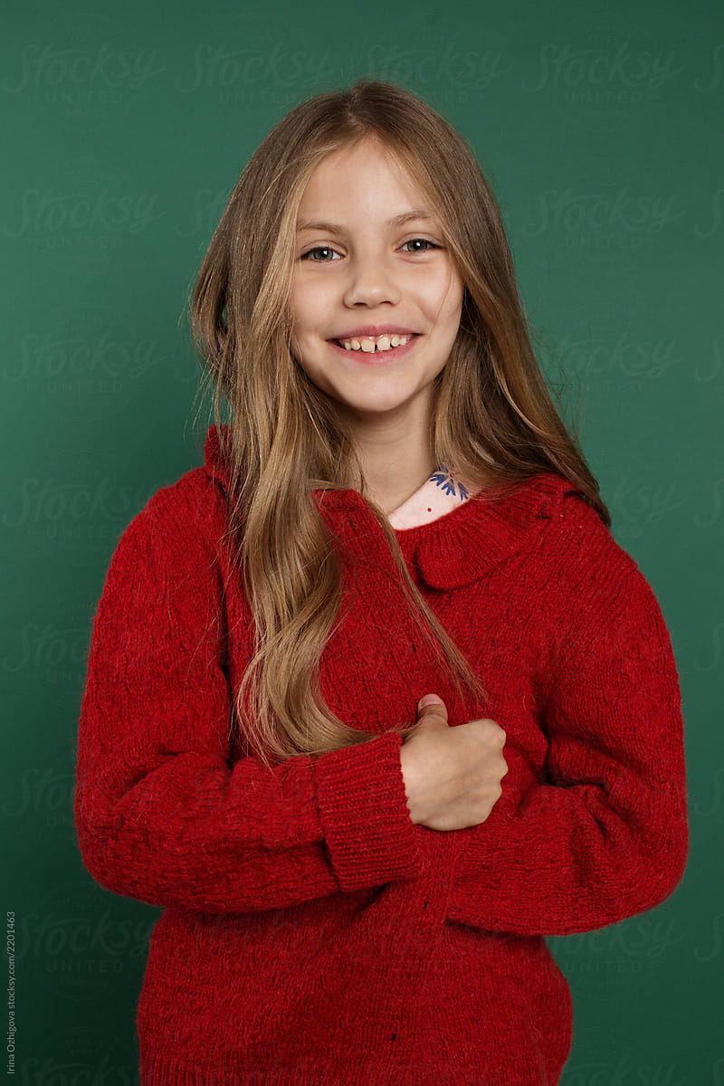 Portrait Of A Pretty, Little Girl! | Stocksy United