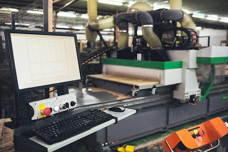 CNC Machine by Lumina for Stocksy United