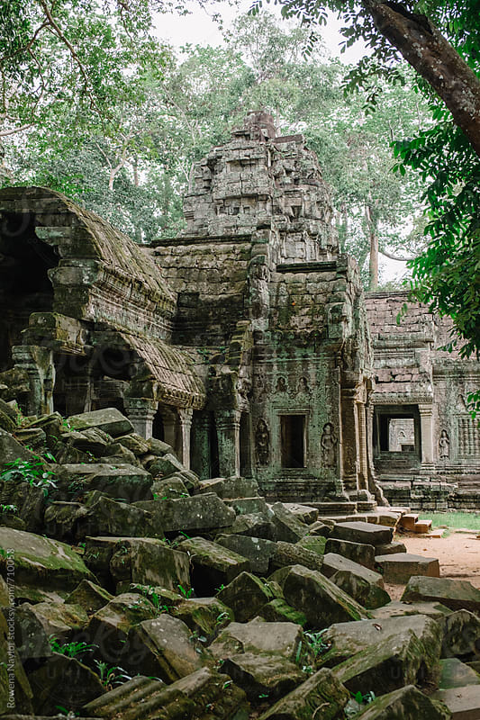 Ta Prohm Temple, aka Tomb Raider Temple, Siem Reap,  Cambodia by Rowena Naylor for Stocksy United