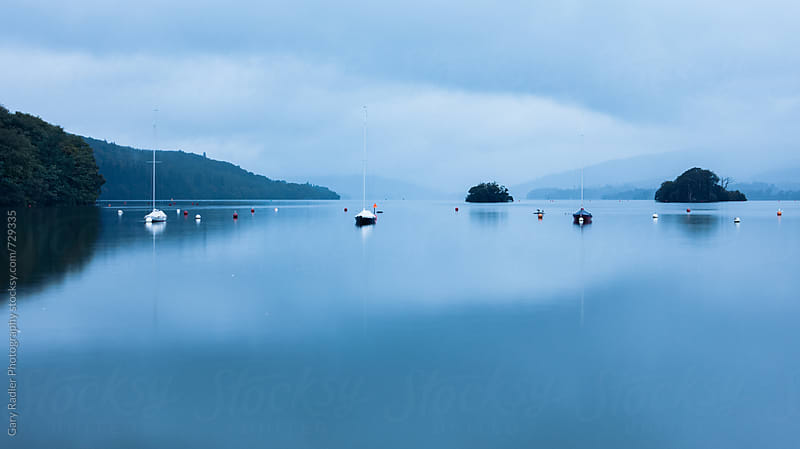 Early Morning, Lake Windermere by Gary Radler Photography for Stocksy United