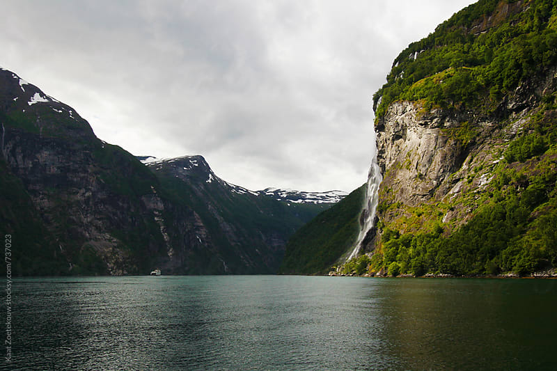 Geirangerfjord by Kaat Zoetekouw for Stocksy United