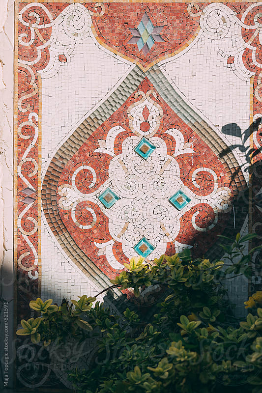 Beautiful wall of tiles in the old town by Maja Topcagic for Stocksy United