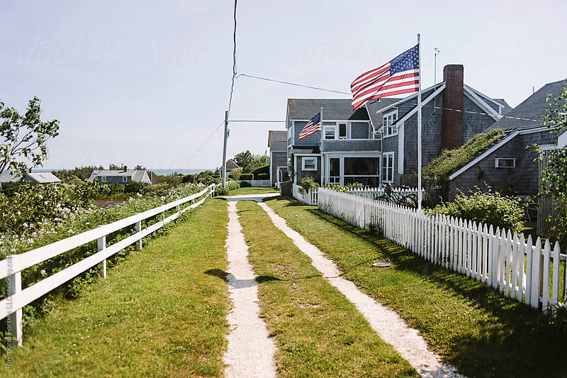 Nantucket Street  by Raymond Forbes LLC for Stocksy United