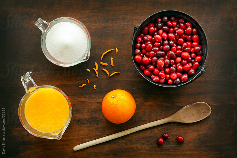 Cranberry Sauce Ingredients  by David Smart for Stocksy United