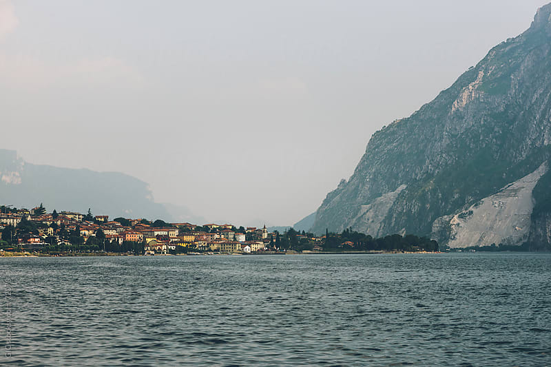Lake Como village by GIC for Stocksy United