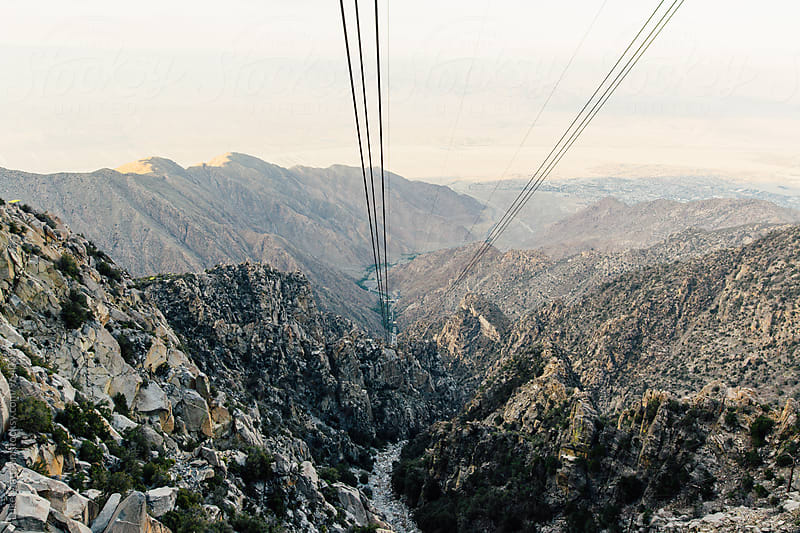 Mountain View From Palm Springs Aerial Tramway by Luke Mattson for Stocksy United