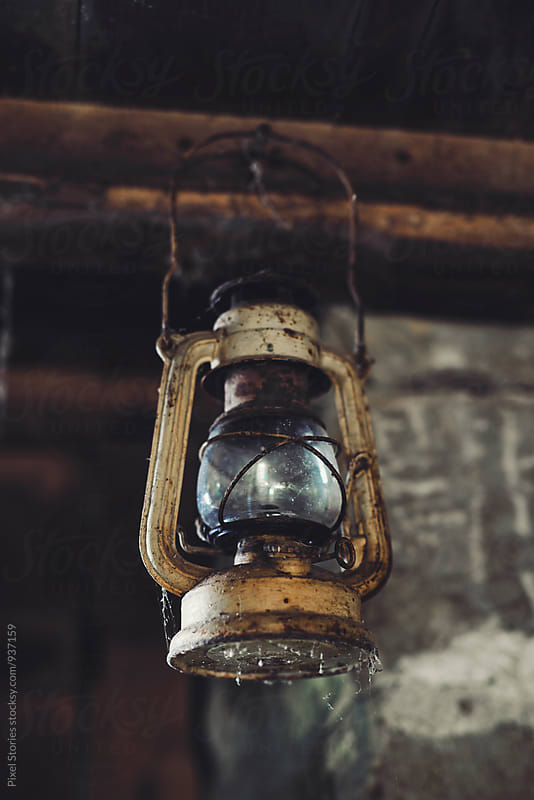 Old kerosene lamp by Pixel Stories for Stocksy United