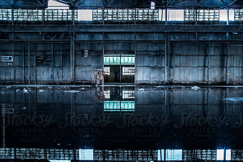 Abandoned Factory 02 by craig ferguson for Stocksy United