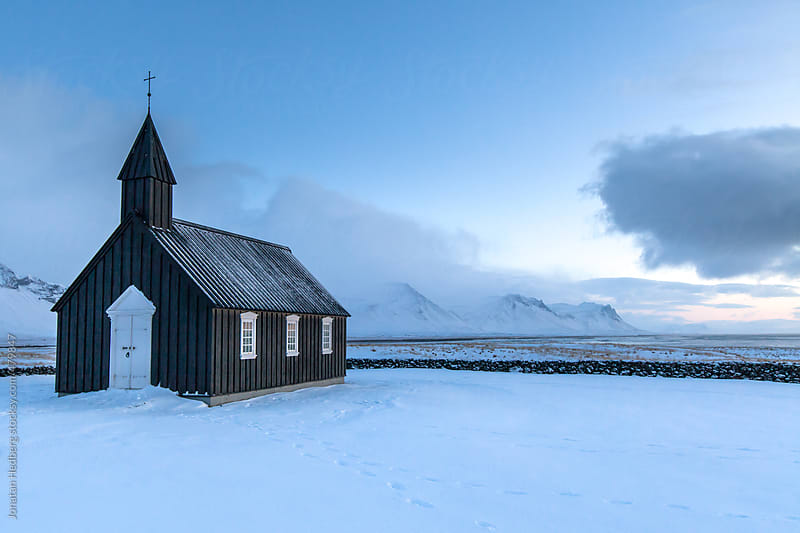 Budir church by Jonatan Hedberg for Stocksy United