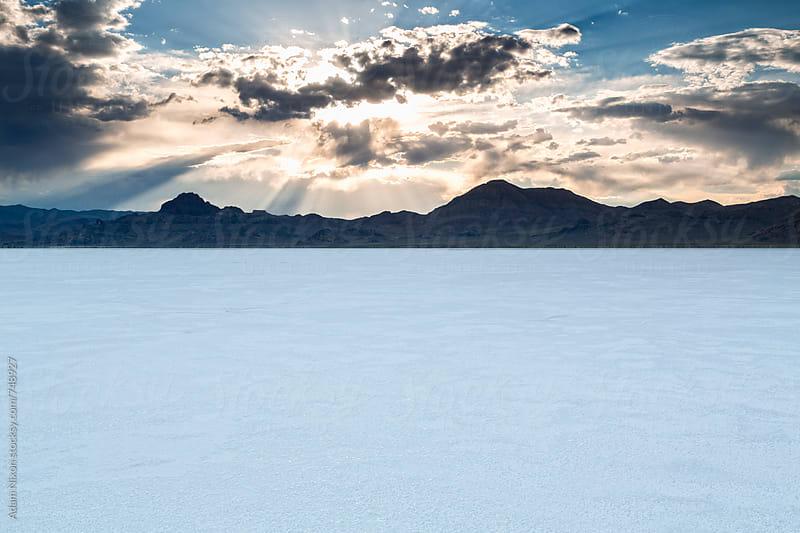 Bonneville Salt Flats, Utah by Adam Nixon for Stocksy United