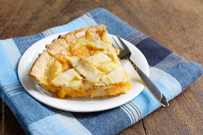 Peach Pie by Harald Walker for Stocksy United