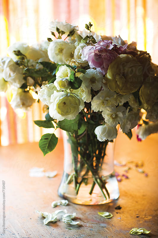 Dying Bouquet of Flowers by Sara Remington for Stocksy United