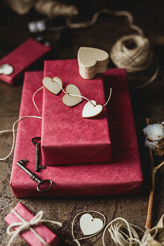 Gifts for Valentoine's Day by Tatjana Ristanic for Stocksy United