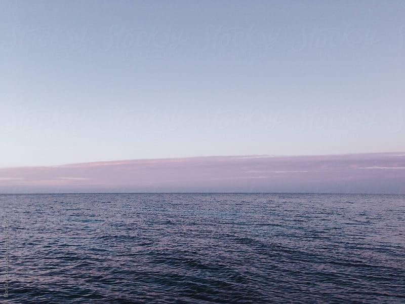 Calm sea in the morning by Bor Cvetko for Stocksy United