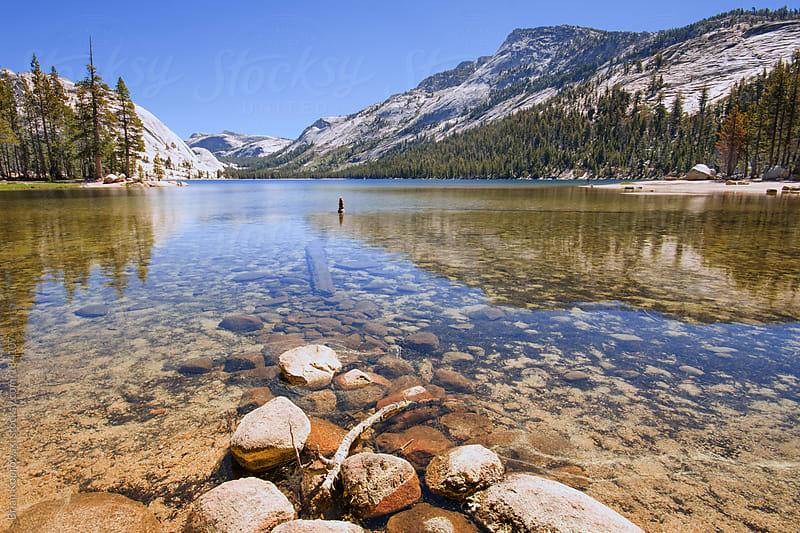High Alpine Lakes by Brian Koprowski for Stocksy United