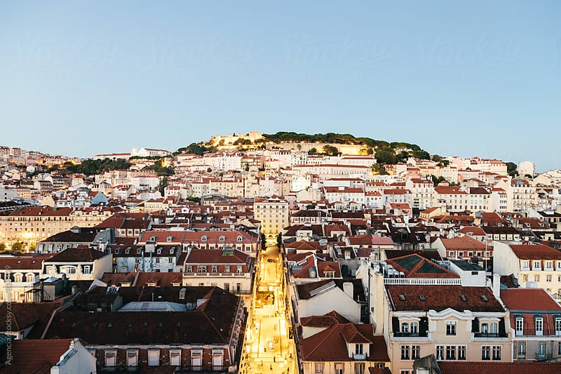 Twilight Lisboa by Agencia for Stocksy United