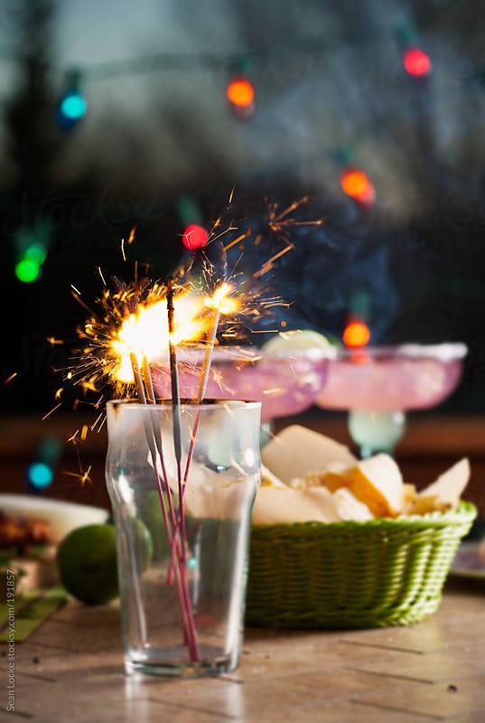 Fiesta: Glowing Sparklers To Celebrate Cinco De Mayo by Sean Locke for Stocksy United