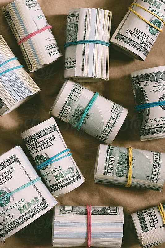 Cash. by Alexey Kuzma for Stocksy United