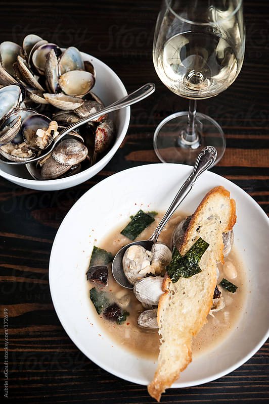 Clam Stew by Aubrie LeGault for Stocksy United