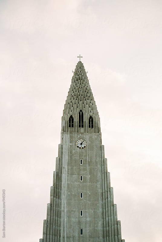 Hallgrímskirkja church by Sam Burton for Stocksy United