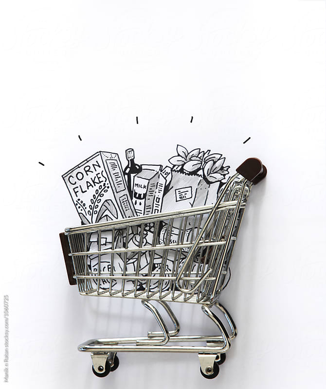 Shopping Cart by Manik n Ratan for Stocksy United