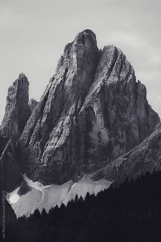 Dolomites mountain in northen Italy by Juri Pozzi for Stocksy United