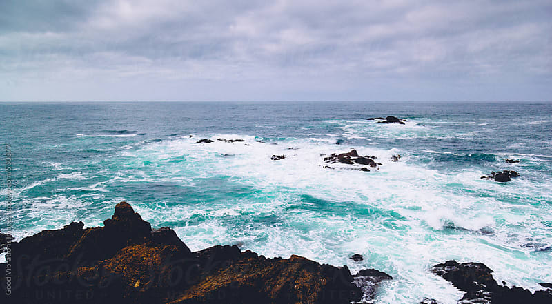 View of the Pacific Ocean  by Good Vibrations Images for Stocksy United