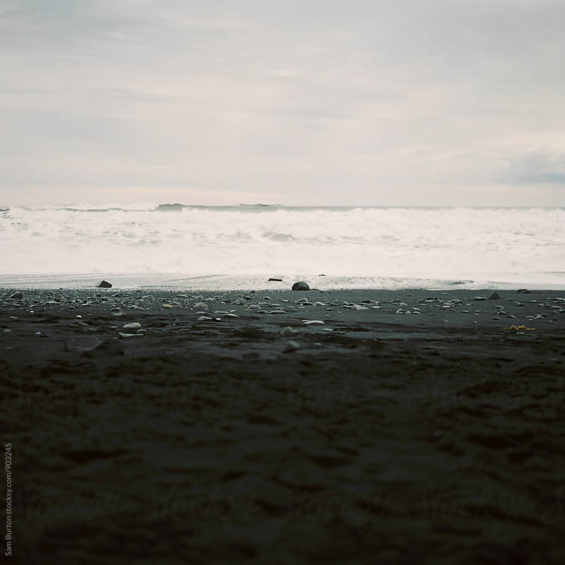 Black beach by Sam Burton for Stocksy United