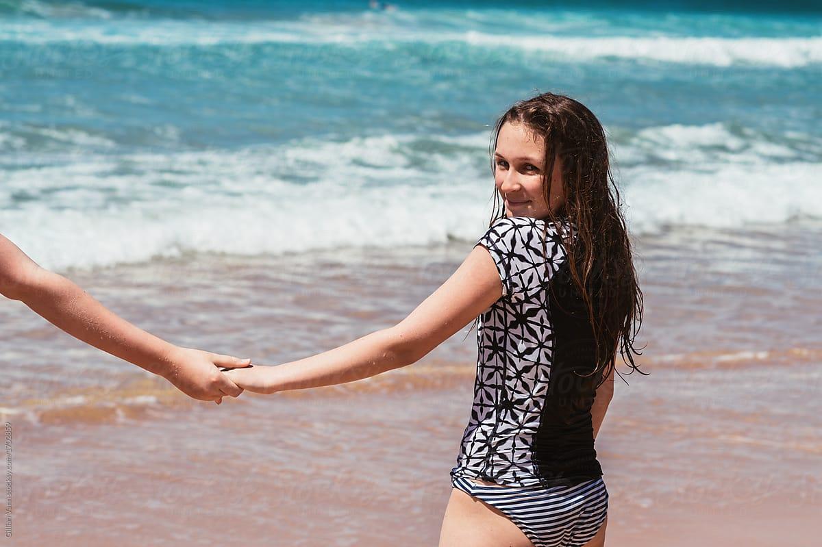 Beach Girl Teen
