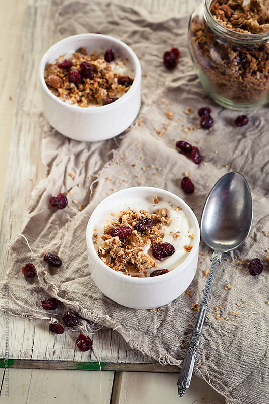 Homemade Grainfree Granola by Susan Brooks-Dammann for Stocksy United