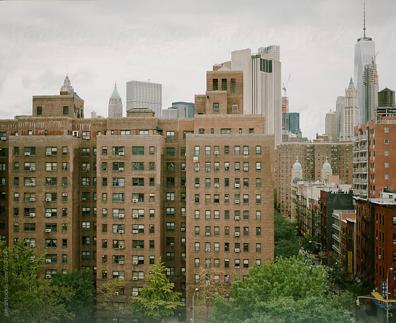 View over buildings in new york city by Jakob for Stocksy United