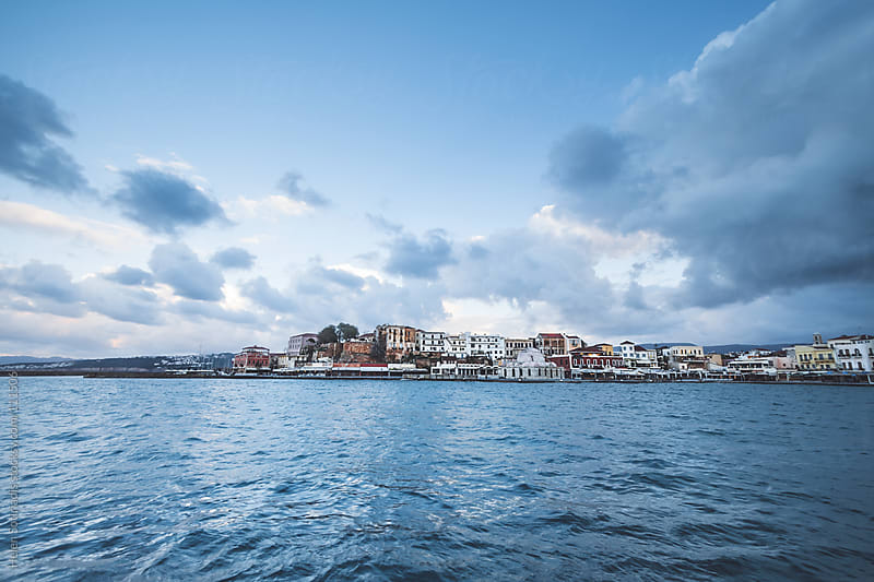 The Town of Chania, Crete, in Greece by Helen Sotiriadis for Stocksy United