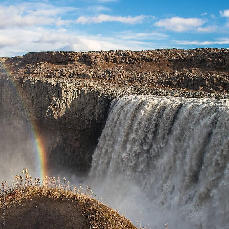 Dettifoss waterfall by Luca Pierro for Stocksy United