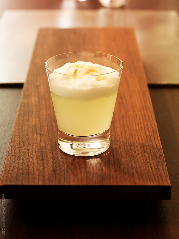 Pisco Sour by Jill Chen for Stocksy United