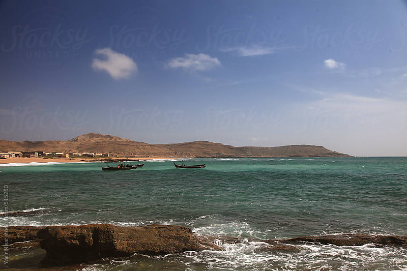 The beautiful coastline of Balochistan by Yasir Nisar for Stocksy United